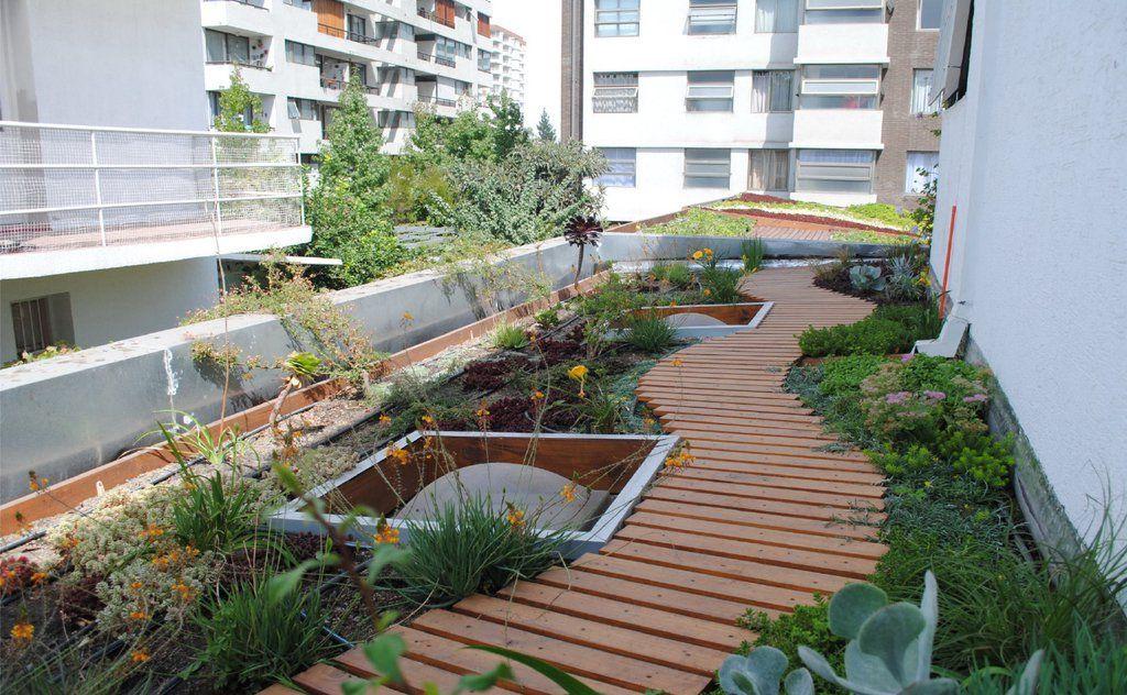 Dise o de techos verdes de hidrosym terrazas ajardinadas - Techos modulares ...