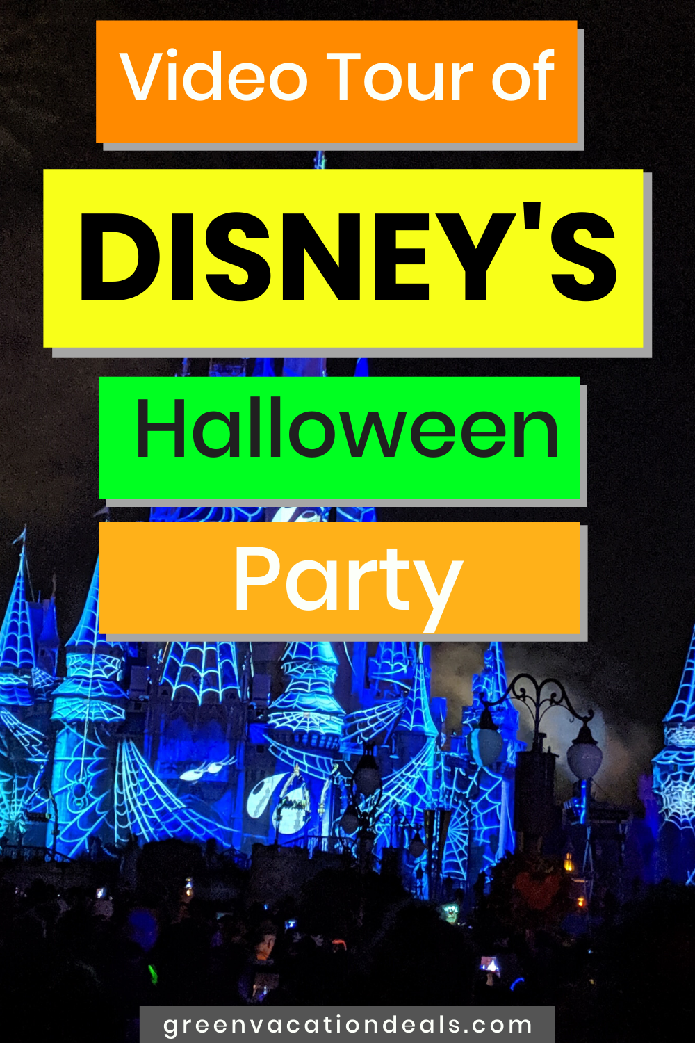 A Video Tour Of Disney World S Halloween Party Green Vacation Deals In 2020 Disney World Halloween Halloween Party Disney Halloween Parties