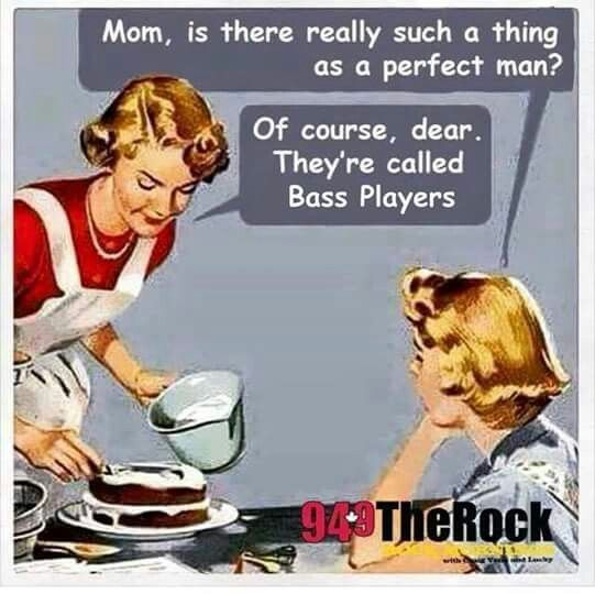 Bass players