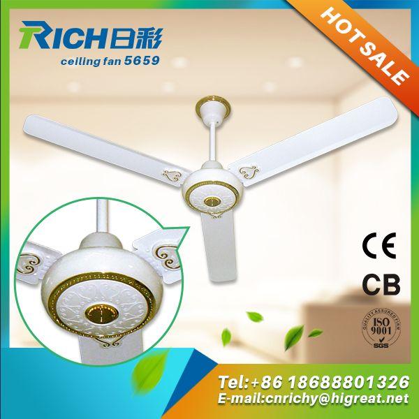 140cm Drawing Room Copper Motor Air Circulation Ceiling Fan