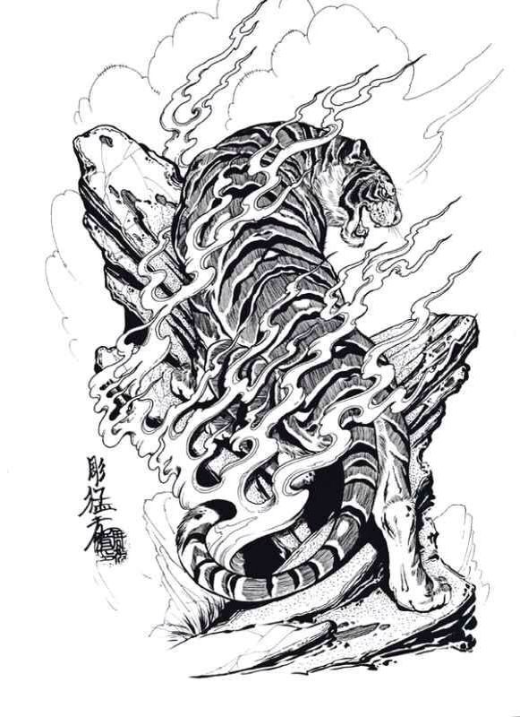 Pin By Uncle Andy On Tattoo Art Japanese Tiger Tattoo Japanese Tattoo Designs Japanese Tattoo