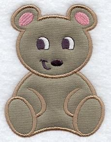 Machine Embroidery Designs at Embroidery Library! - Baby Animals (Applique)