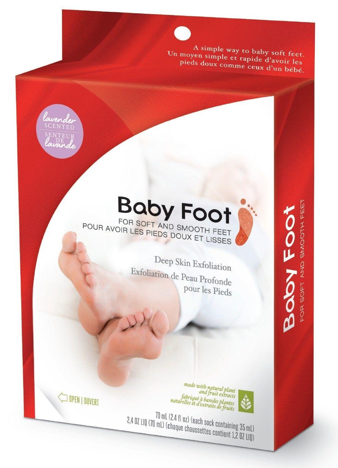 Baby Foot De Salon baby foot deep skin exfoliation for soft & smooth feet