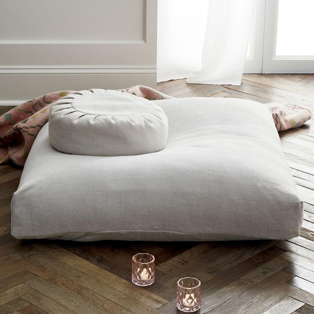 Goop X Cb2 Sedona Large Zabuton Floor Pillow Goop Big Floor Pillows