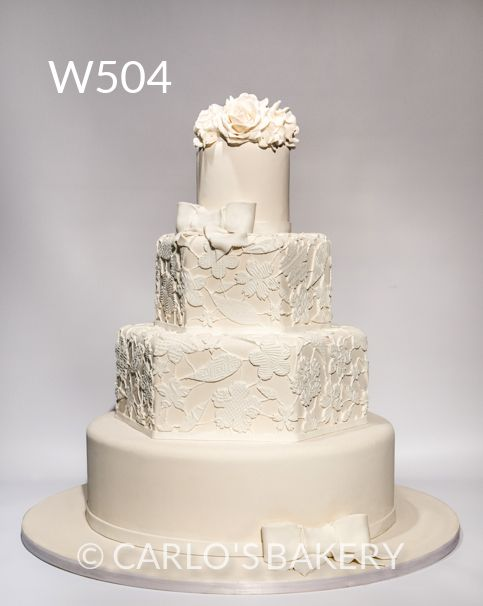 Carlo S Bakery Wedding Cake