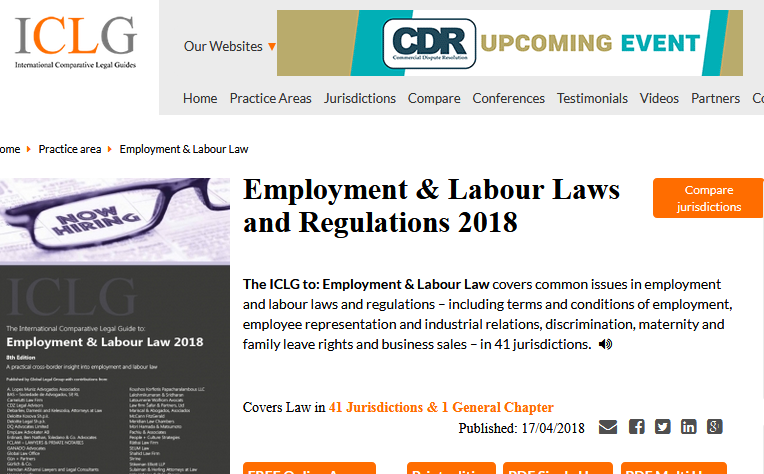 Employment Labour Laws And Regulations Labor Law Law