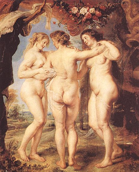 I wish women were seen as beautiful as they were then, cellulite and all. I love the paintings of Peter Paul Ruebens.  AS in most of the paintings from the 15th century...women were beautiful with their softness, extra weight and cellulite.