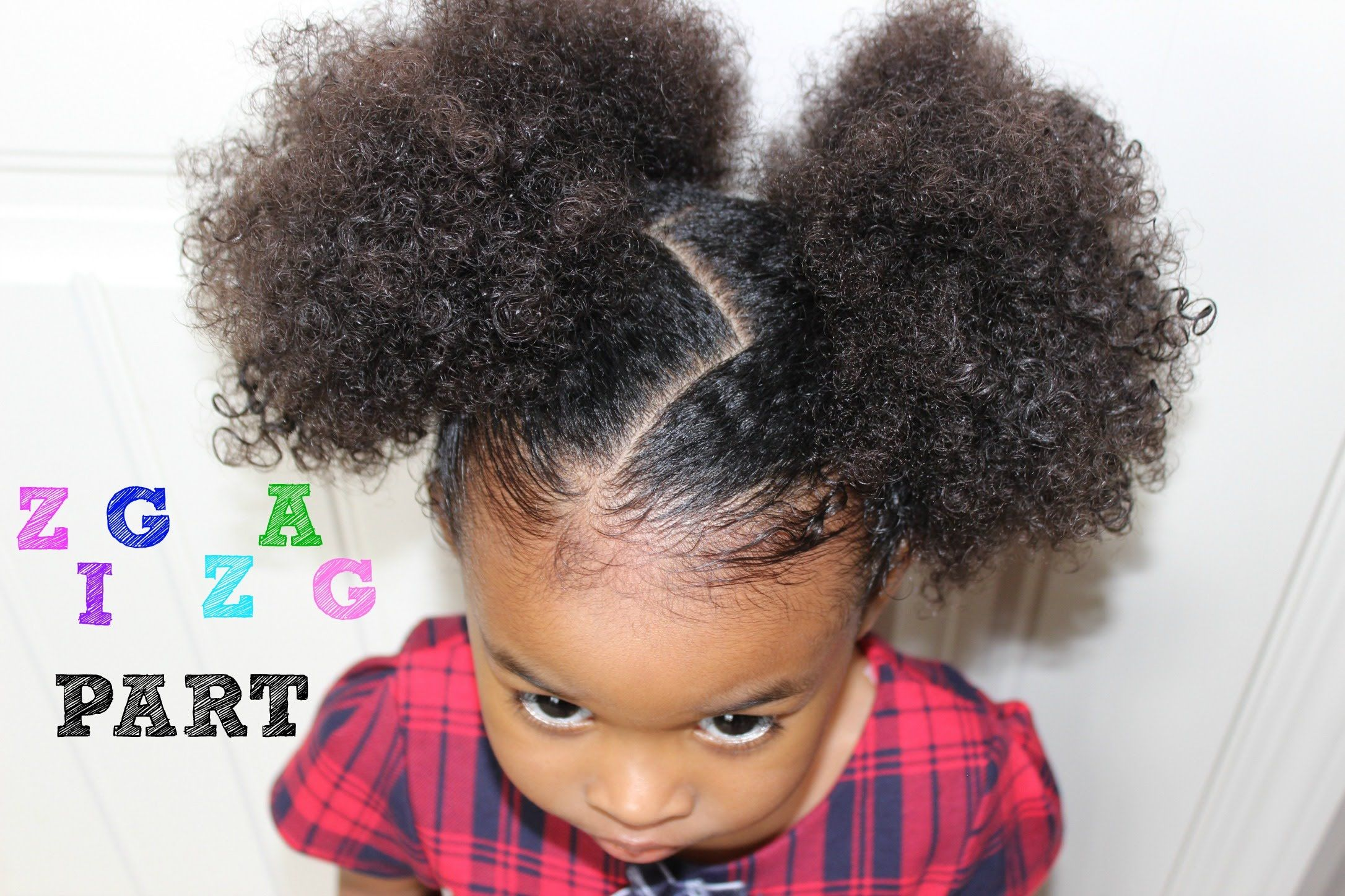 Zig zag part step by step tutorial cute girls hairstyles