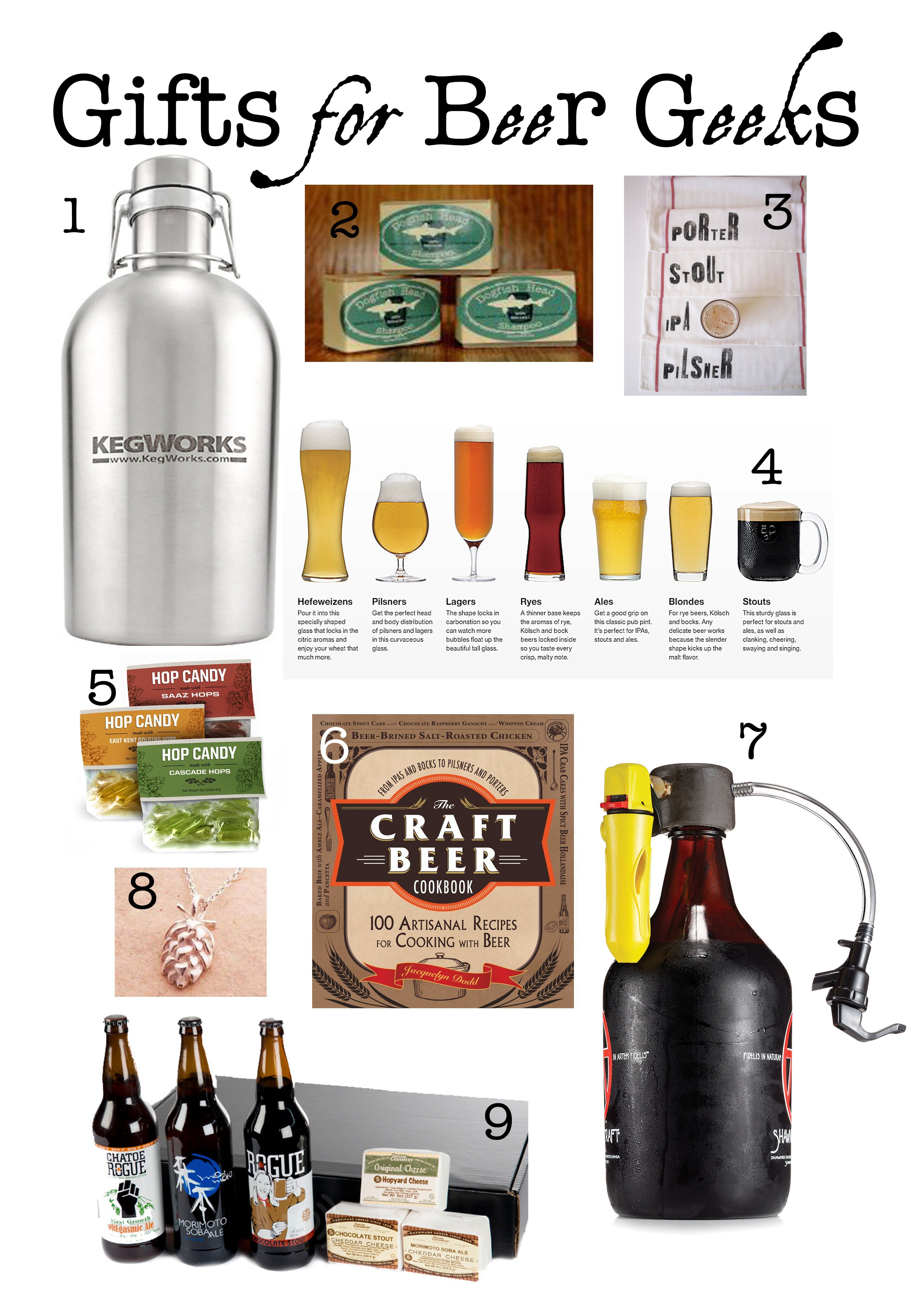9 Gifts for Beer Geeks | Beer, Brewing beer and Beer brewing