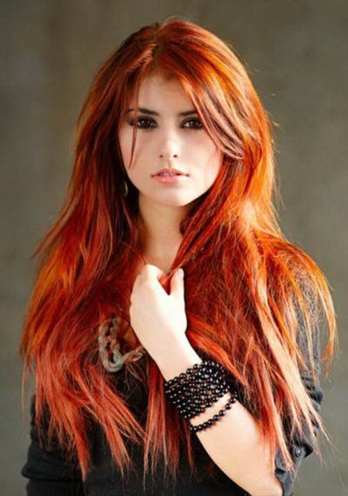 dyed red hair styles hairstyles ideas every should try once hair 4602 | 8f731561f675ea248a8eeb5cd34109e2