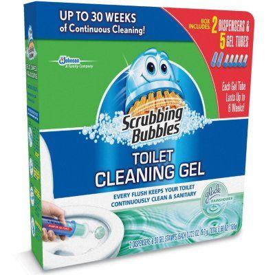 Sam's Club - Scrubbing Bubbles Toilet Cleaning Gel - 30 Discs