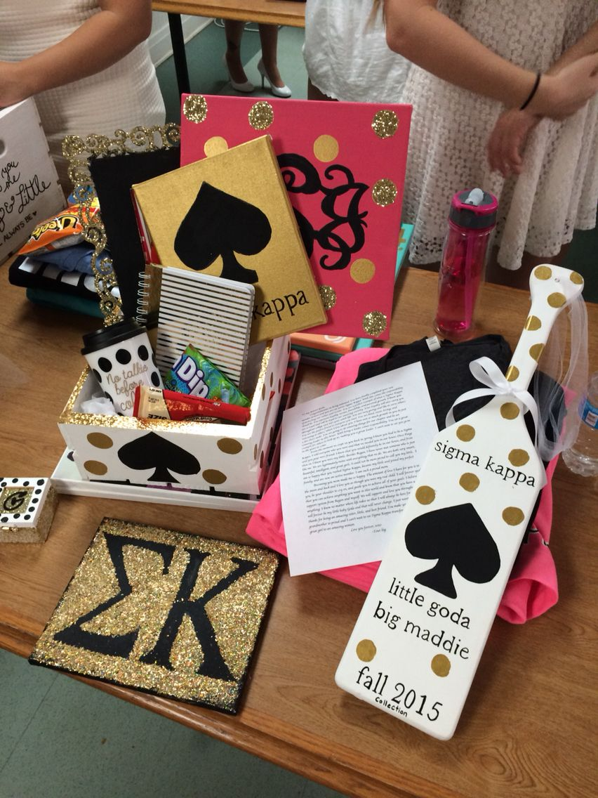 Big little Gifts for initation