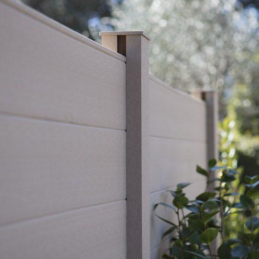 Lame pour clôture Resysta, 2x15x150 cm JARDIN Pinterest