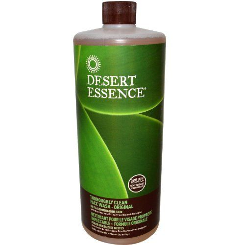 Desert Essence Thoroughly Clean Face Wash Refill, 32-Ounce Desert Essence http://www.amazon.com/dp/B001CMV8FG/ref=cm_sw_r_pi_dp_VU4gub1WGGD3Y  After a week of using this product, my pregnancy related breakouts were gone and my skin was glowing!