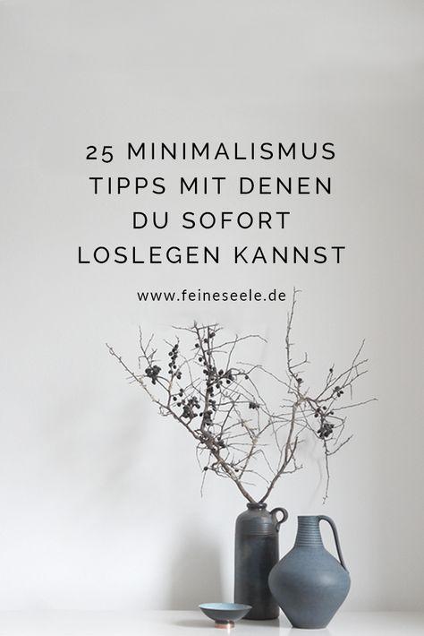 minimalistisch leben 25 tipps und ideen f r mehr klarheit. Black Bedroom Furniture Sets. Home Design Ideas