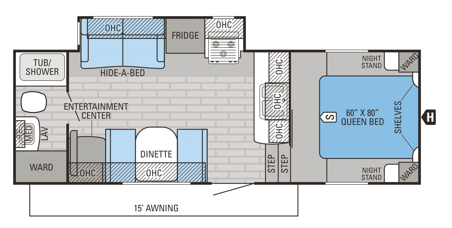 Heartland Rv Floor Plans Alpenlite 5th Wheel Floor Plans Flooring Ideas And