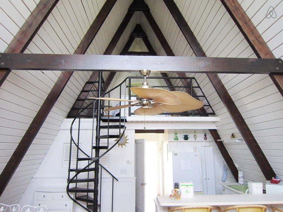Vilano Beach House Rentals Part - 40: Oceanfront A Frame House Vilano Beach, CA