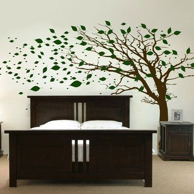 Dali Decals Would Love This Tree In My Room Over My Bed In Black And White And Then Maybe Hang Som Tree Wall Murals Kids Room Wall Murals Wall Murals Bedroom