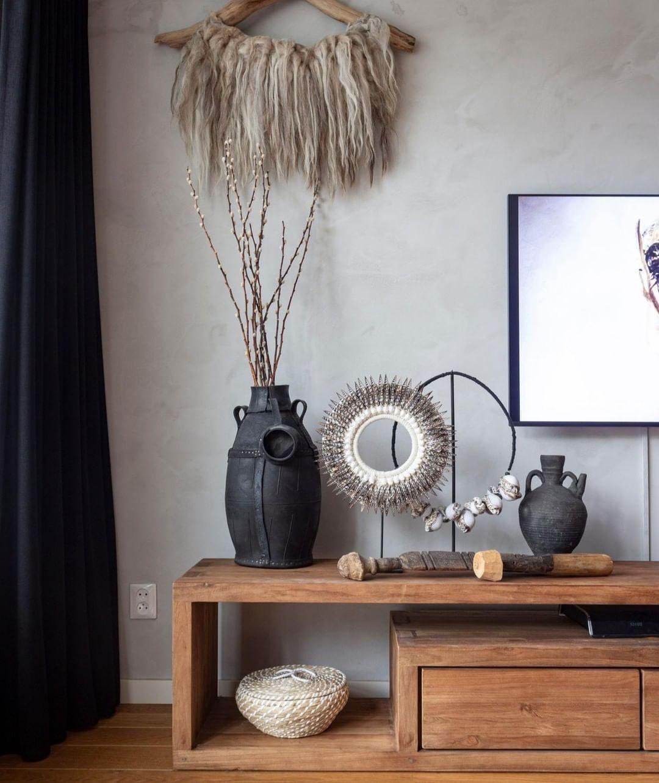 Meuble Tv Teck Recycle Chez Meuble Passion Mobilier De Salon Meuble Bois Massif Salon Boho