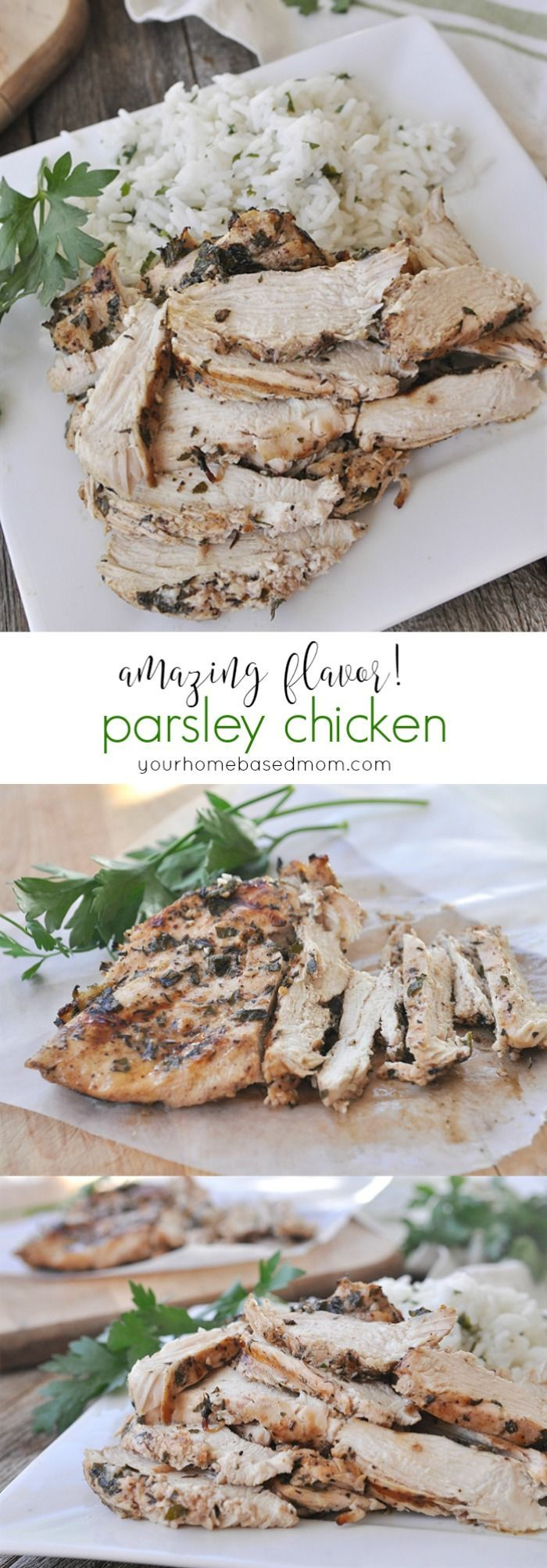 Parsley Chicken - amazing flavor!
