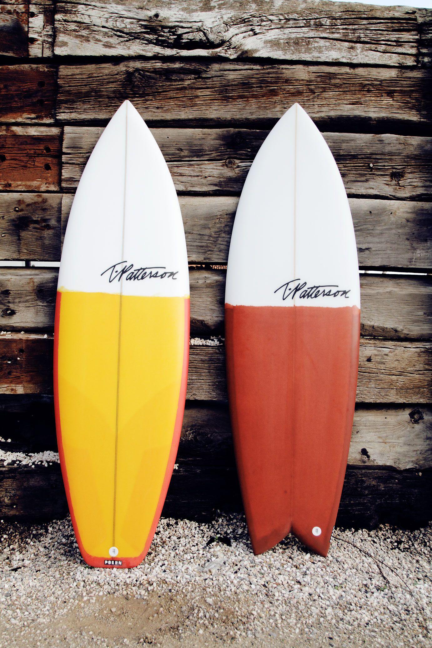 Tim Patterson Surfboards, Custom & Devilfish Made At Polen Surfboards