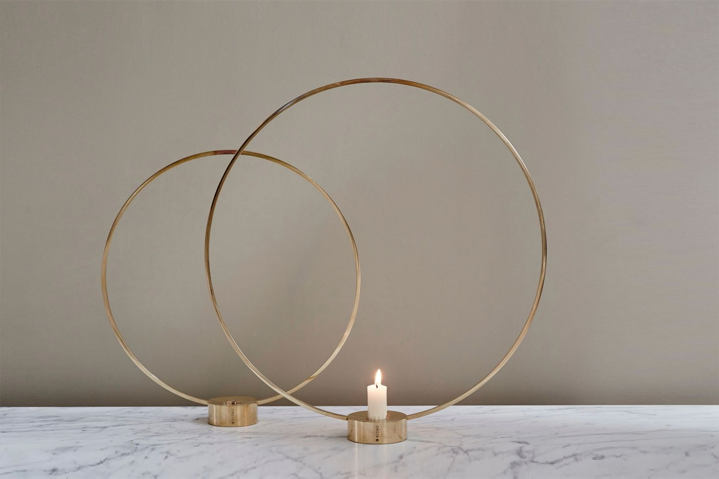 5 Favorites Scandi Circular Candleholders In Brass In 2020 Design Candle Holders Candle Decor Candle Holders