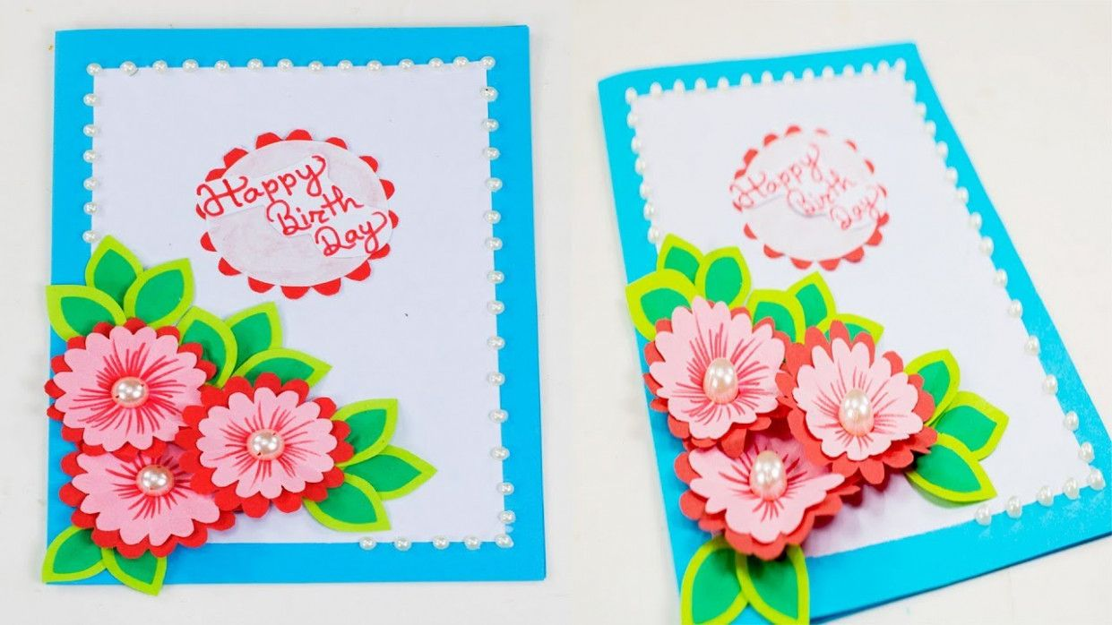 Beautiful Greeting Card Birthday Card Design Card Design