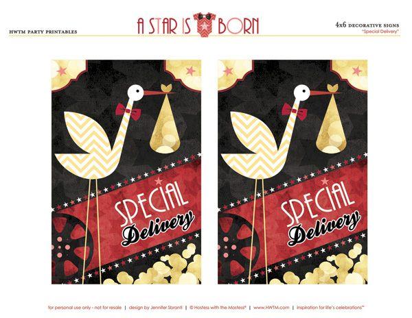 Baby Shower Themes Printables ~ Royal safari baby shower theme free printables pink blue