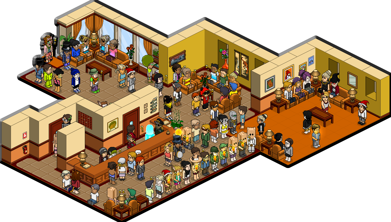 Habbo Slaapkamer Pin Van Habbsoft Op Cool Habbo Rooms House Styles Room En Home