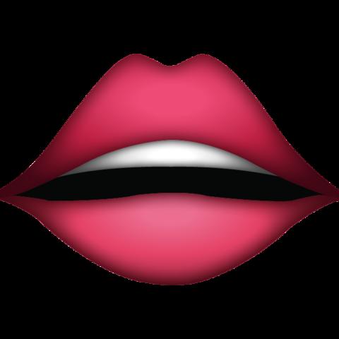 Lips Emoji Emoji Cool Emoji Lips