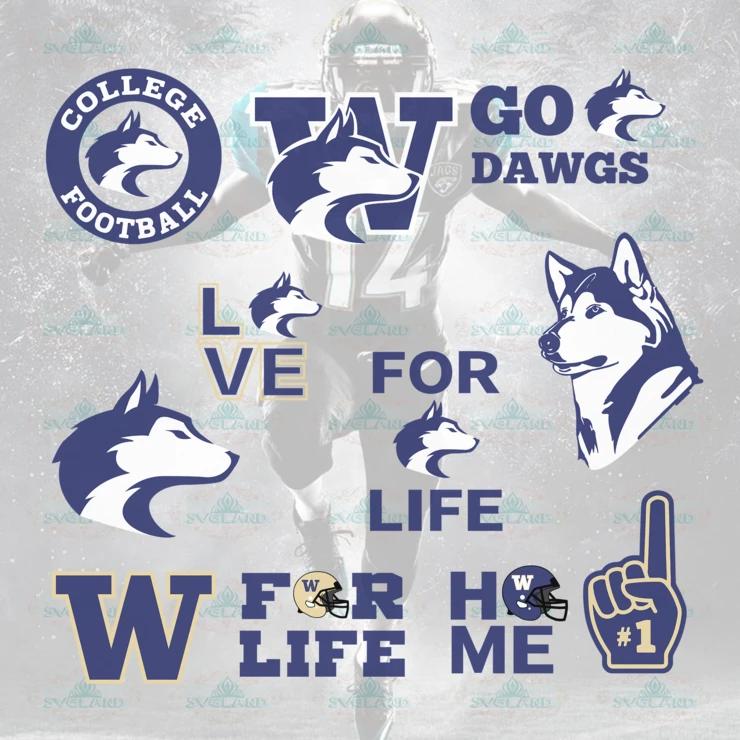 Washington Huskies, Washington Huskies Logo, Washington