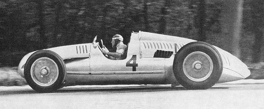 1938 Donington Park Auto-Union Type D Tazio Nuvolari