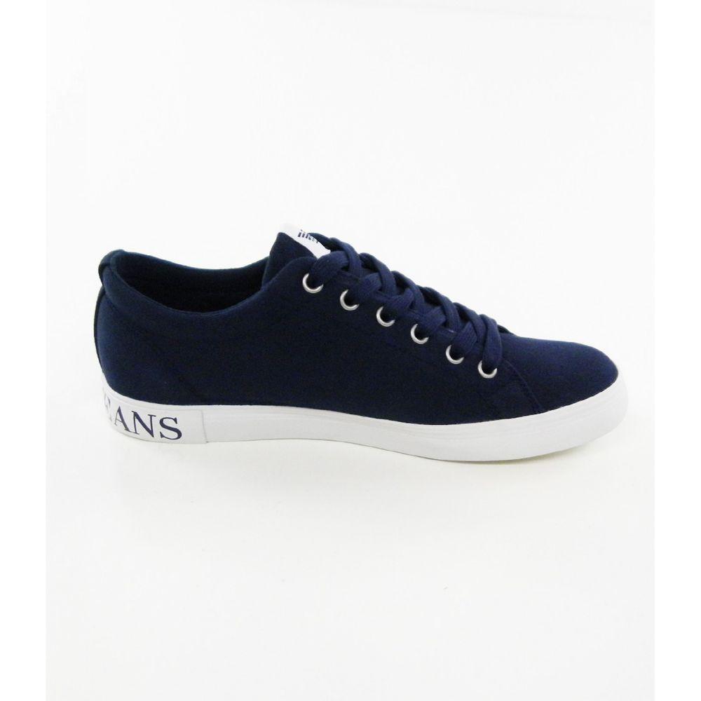 e780531021 Dettagli su Scarpe uomo Armani Jeans, sneaker blu art. C654015 ...