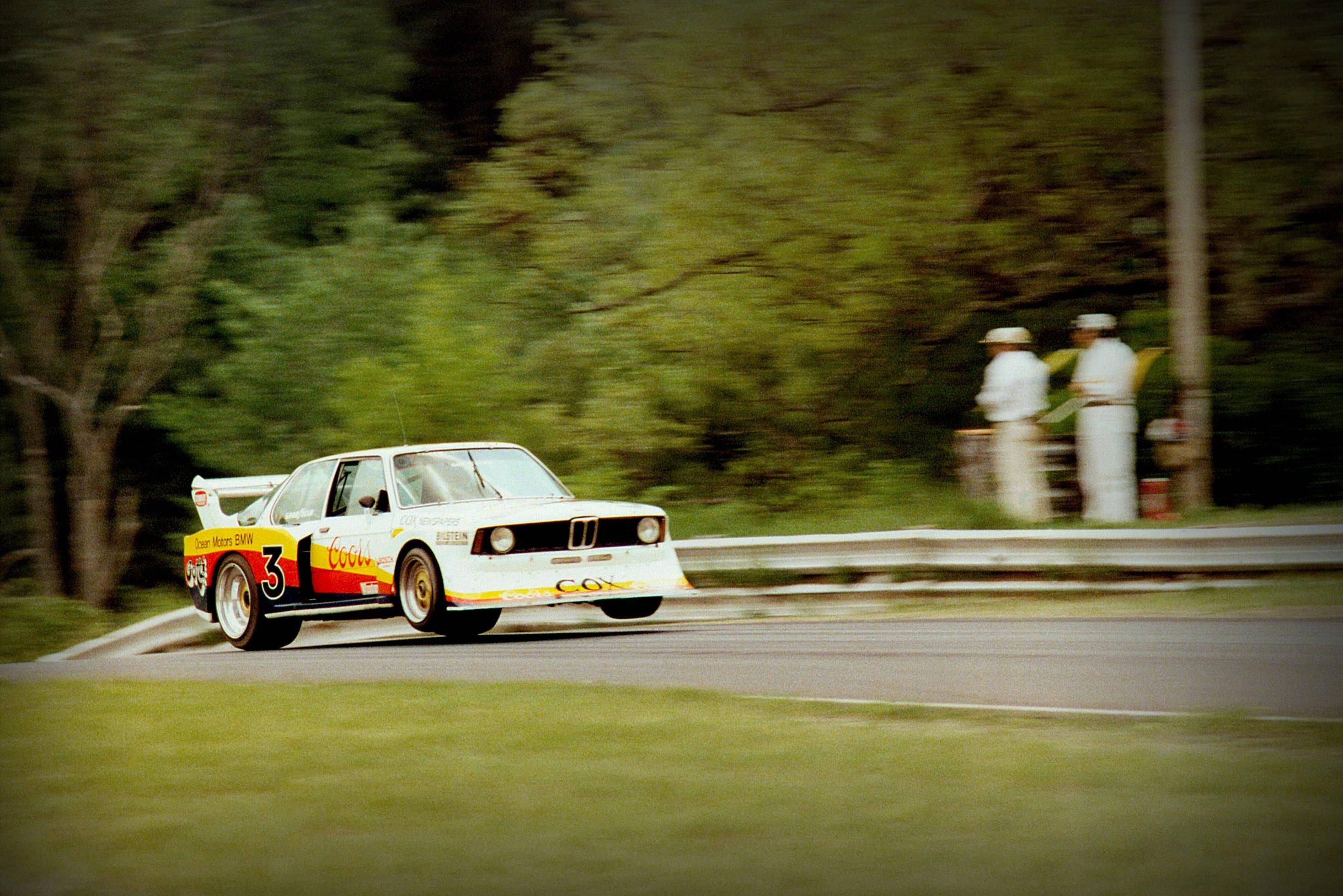Jim Busby S Bmw Turbo In Action Bmw Cars