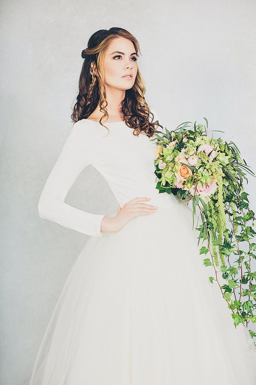 Conservative wedding dresses  ElizabethStuart Rosemarie Dress  Brautkleider  Weddingdresses