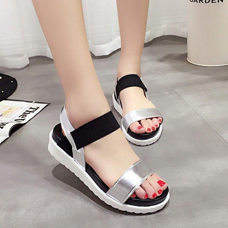 f966ca13b09c1e D-BuLun Women shoes Summer Women sandals 2016 peep-toe flat Shoes Roman  sandals shoes woman sandalias mujer sandalias