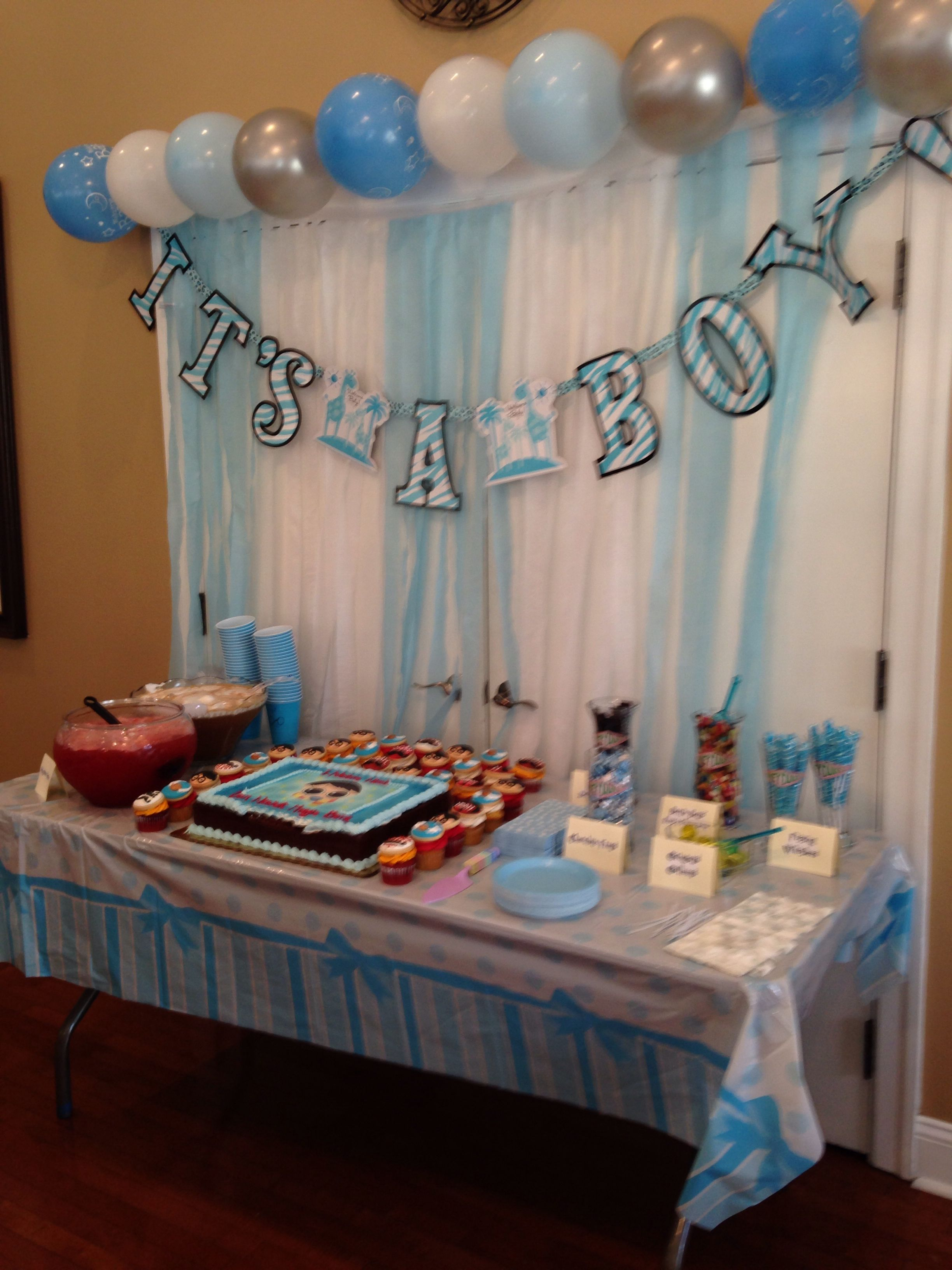 My Harry Potter baby shower