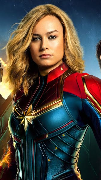 Captain Marvel Movie Cast 8k 7680x4320 Wallpaper Captain Marvel Captain Marvel Carol Danvers Marvel