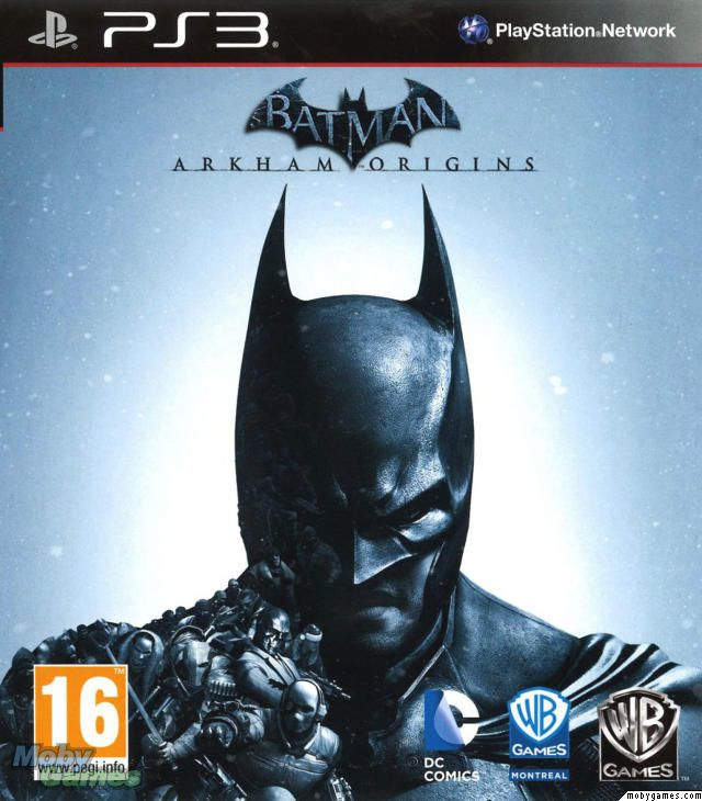 Batman  Arkham Origins PlayStation 3 Front Cover  7461100e046
