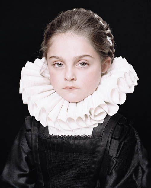 Rainer Elstermann reinvented 'Portrait of a Chambermaid' by Pieter Paul Rubens