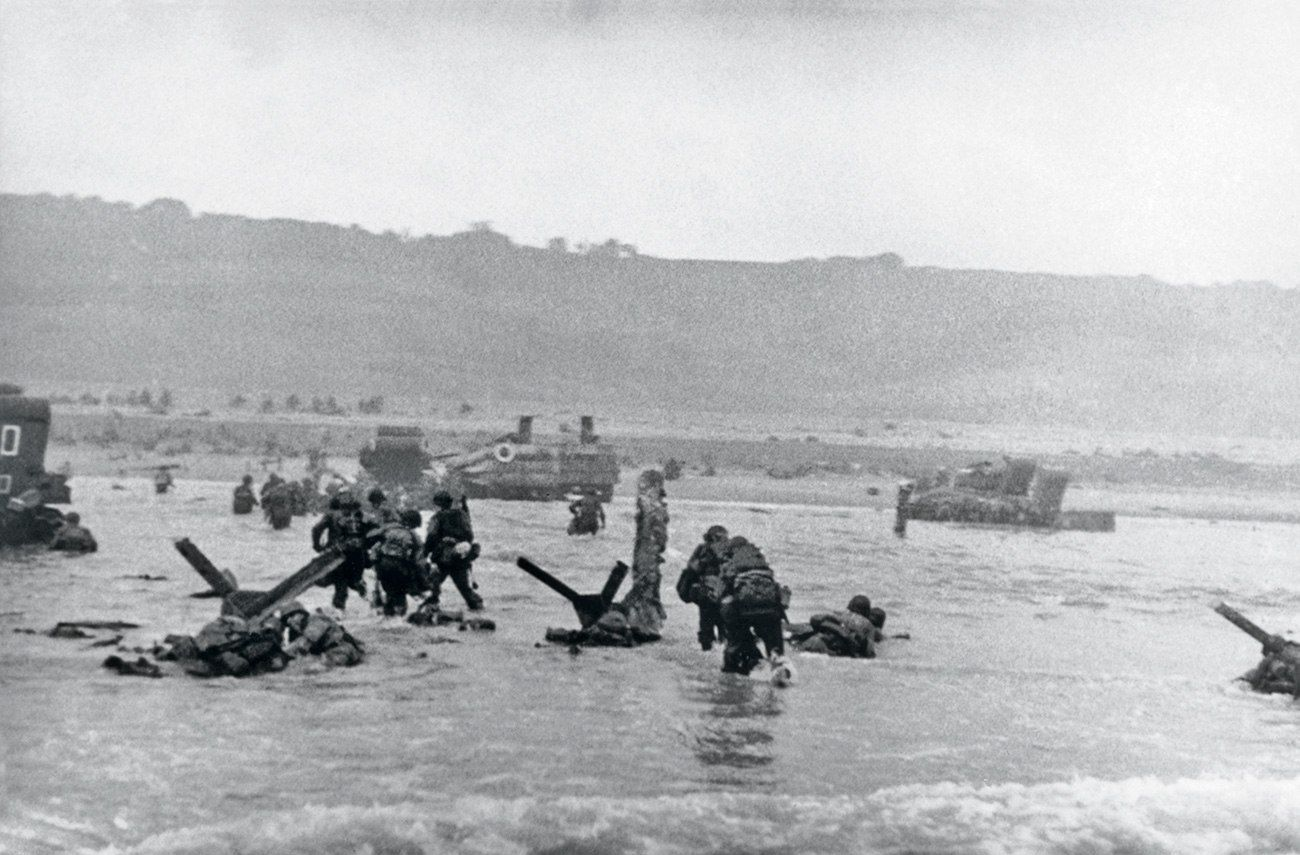 normandy beach christian single men The normandy landings  with some infantry wading through the flooded fields rather than travelling on the single  casualties at juno were 961 men sword beach.