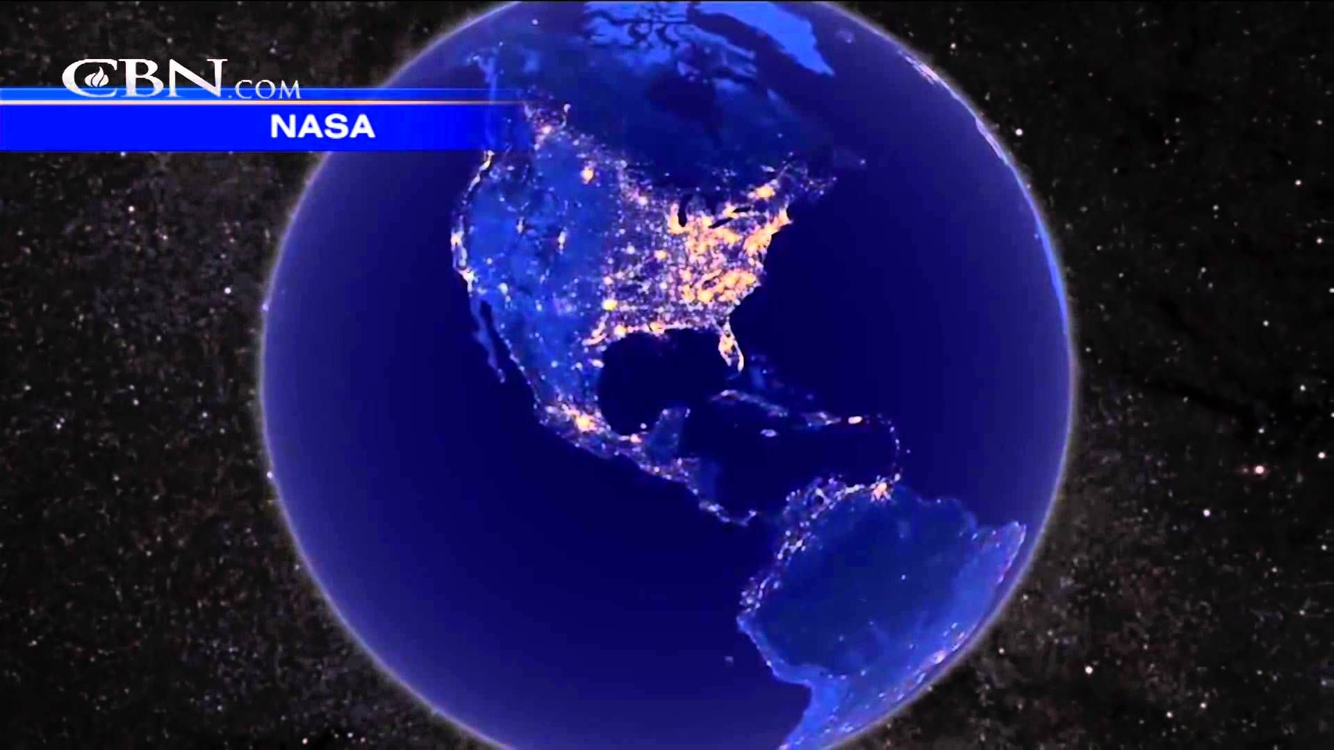 NASA Video A View of Christmas Lights from Space Pretty