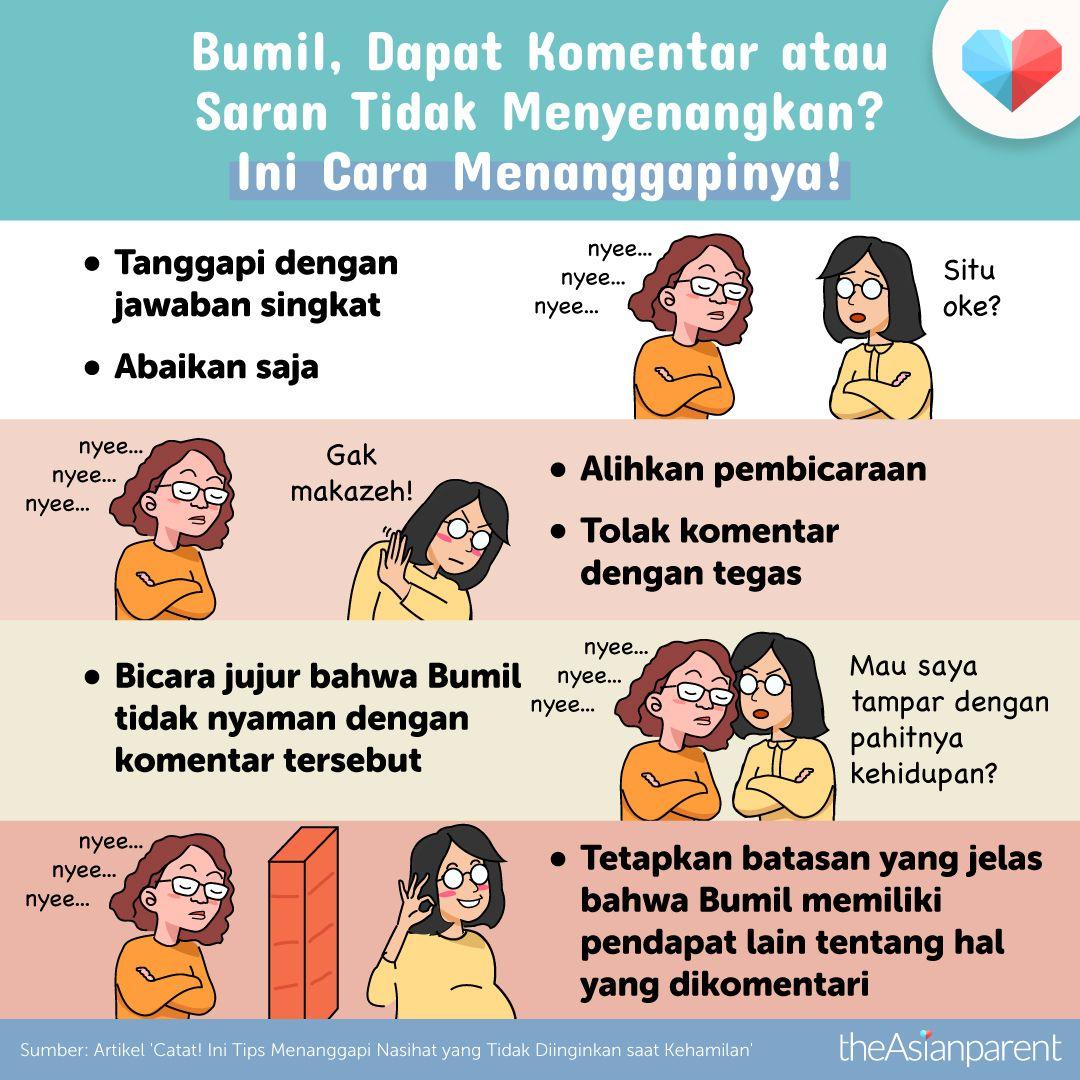 Bumil Dapat Komentar Tidak Menyenangkan Ini Cara Menanggapinya Kehamilan Tips Kehamilan Sehat