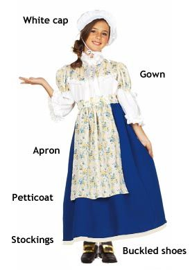Typical Colonial Women Wore Lots Of Layers They Usually