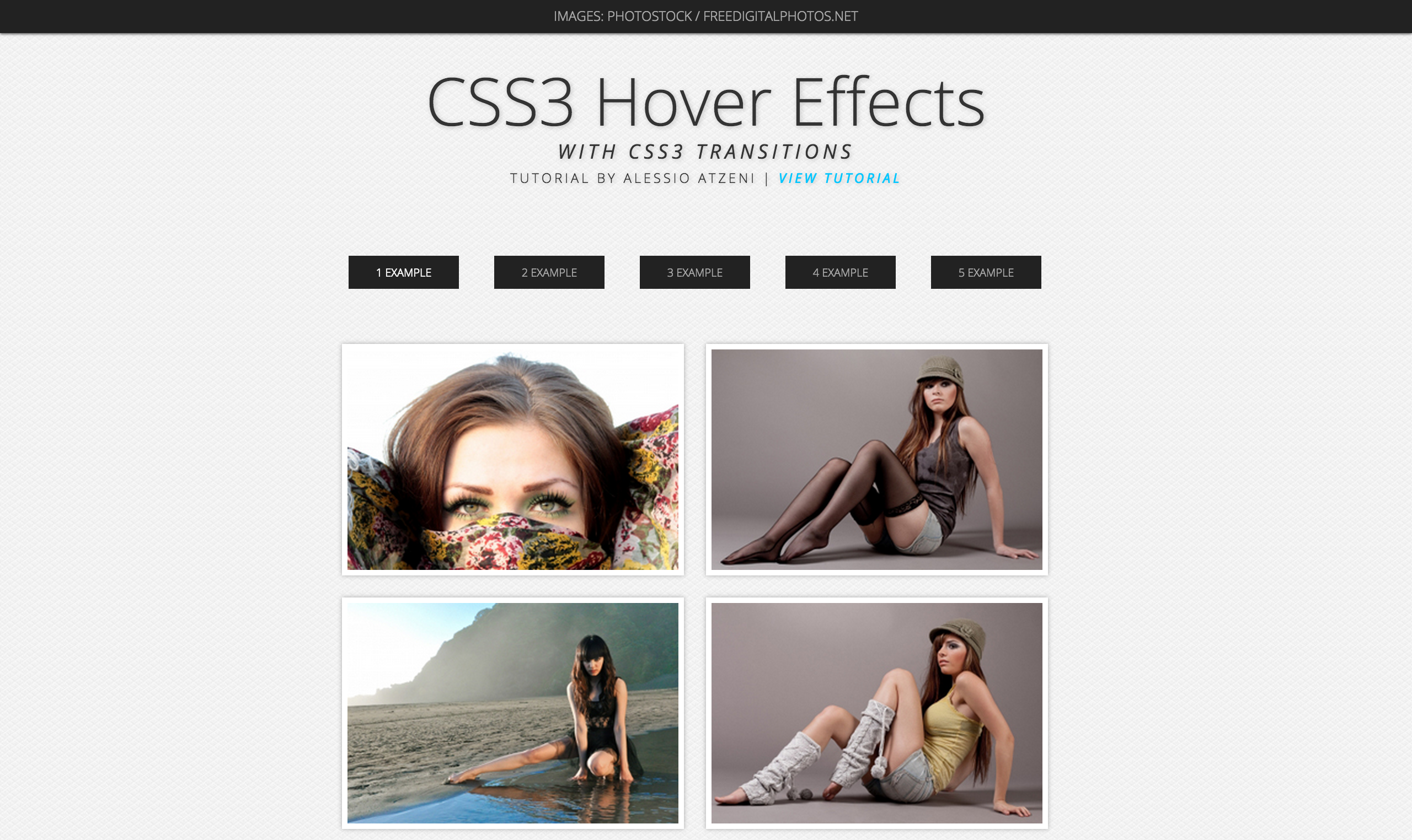 http://www.alessioatzeni.com/wp-content/tutorials/html-css/CSS3-Hover-Effects/index.html