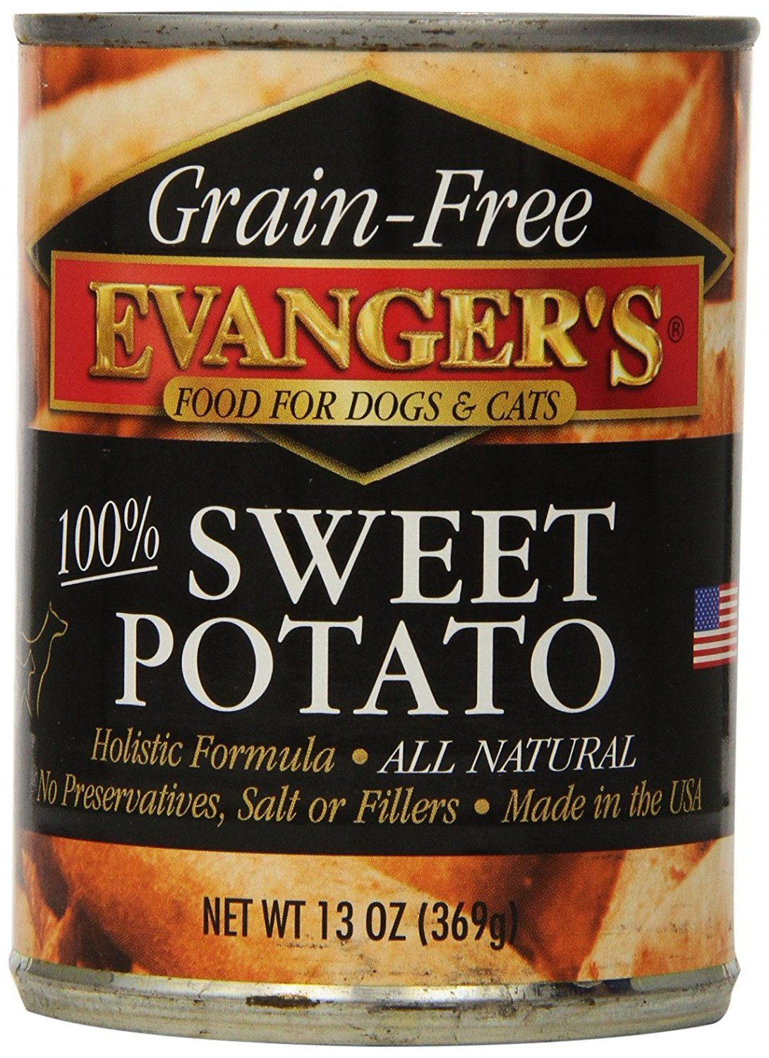 Evanger's GrainFree Sweet Potato Canned Food >>> You can