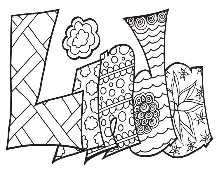 Linda Classic Stevie Doodle Free Coloring Page Stevie Doodles Name Coloring Pages Free Coloring Pages Coloring Pages