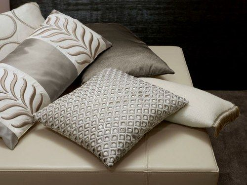 cushions; Zimmer & Rohde fabrics available to order in our showroom…
