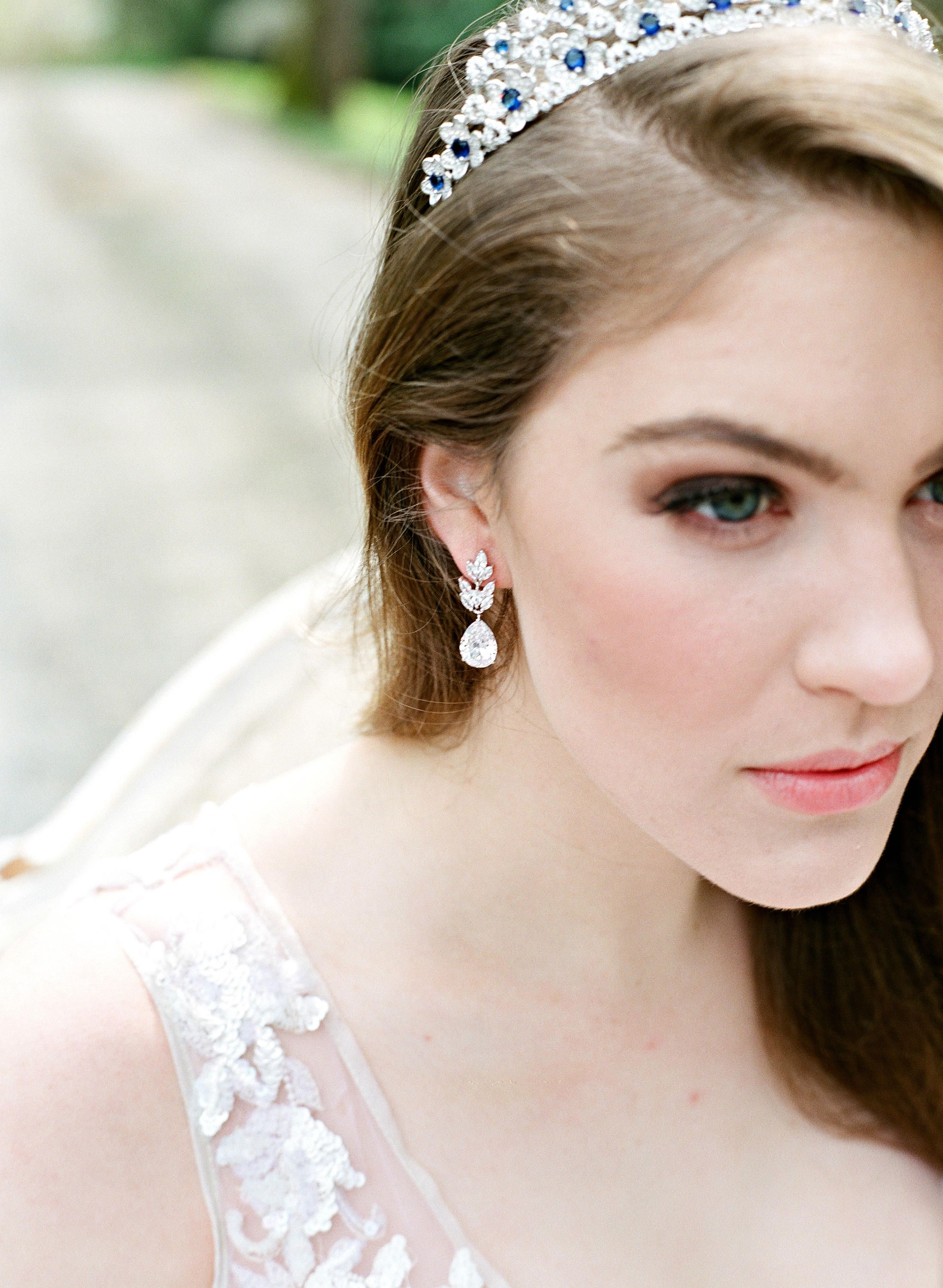 bec esme hitched from dress wedding earrings chez bridal for perfect