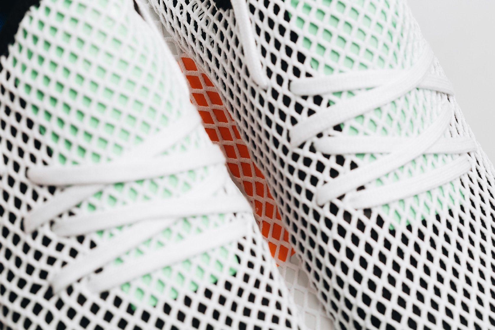 3737baa6e adidas Originals Deerupt Runner Core Black Colorway Closer Look Sneaker  Info Release Date Pricing